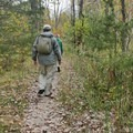 Hiking on the Ice Age Trail.- Ice Age Trail