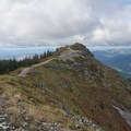 The final bit of trail to Silver Star Mountain.- Silver Star Mountain via Grouse Vista Trailhead