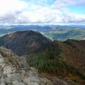 The Yacolt Burn area of the Southern Cascades.- Silver Star Mountain via Grouse Vista Trailhead