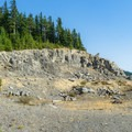 A rock quarry on the hike to Wildcat Mountain.- Wildcat Mountain via Douglas Trail