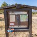 Official trailhead.- Shanahan Forks Loop