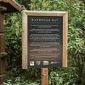 Information about Watmough Bay's history. - Lopez Island: Watmough Bay