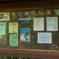 Signage at the entrance to the beach. - Lopez Island: Watmough Bay