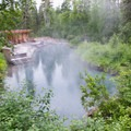 Liard River Hot Springs.- Liard River Hot Springs Campground