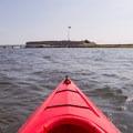 Approaching Fort Sumter.- Fort Sumter Sea Kayaking