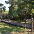 The trailhead at Buck Hall Recreation Area.- Palmetto Trail: Awendaw Passage