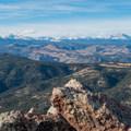 Close-up of Audubon to Longs Peak.- South Boulder Peak via Shadow Canyon