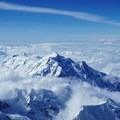 Mount Hunter from 17,000-foot Camp- Denali: West Butress