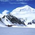 Catching a ride off the Kahiltna Glacier.- Denali: West Butress