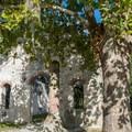 The Chapel of Ease near Beaufort, South Carolina.- Chapel of Ease Ruins