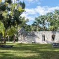 The grounds of the Chapel of Ease.- Chapel of Ease Ruins