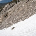 Climbing the steep slope from Duck Pass.- Duck Pass via Wood Lakes + Duck Pass Trail