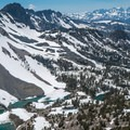 Great views from above Duck Pass.- Duck Pass via Wood Lakes + Duck Pass Trail