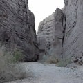 The main gorge.- Ladder Canyon Trail in Painted Canyon