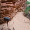 Be sure to sign this visitor register at the petroglyph panel- Zion's Petroglyph Canyon
