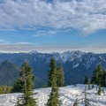 Hollyburn Peak is just the starting point for peering into the north shore backcountry.- Hollyburn Mountain Snowshoe