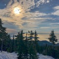 Snowshoeing to Hollyburn Mountain.- Hollyburn Mountain Snowshoe
