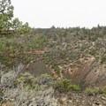 Mammoth Crater.- Big Nasty Trail + Hidden Valley