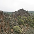 Rugged lava flow along the Big Nasty Trail.- Big Nasty Trail + Hidden Valley