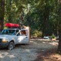 Standard sites come in various sizes.- Myrtle Beach State Park Campground