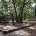 More outdoor activities can be found near the nature center.- Myrtle Beach State Park Campground