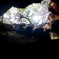 Looking out from Keanalele Cave. - Kīholo State Park Reserve