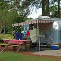 RV set-up near the ponds.- Topsail Hill Preserve State Park