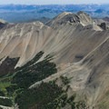 Looking to the east from the summit.- Mount Breitenbach