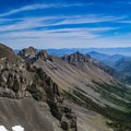 The view east from the summit ridge.- Mount Breitenbach
