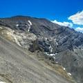 Lost River Peak from Pete Creek.- Mount Breitenbach