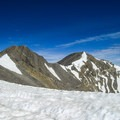 Looking to the north towards the summit along the ridge.- Mount Breitenbach