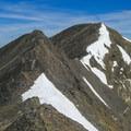 Nearing Breitenbach's summit.- Mount Breitenbach
