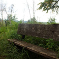 Benches and shelters can be found periodically along the trail.- Indian Cave State Park