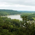 The Missouri River. - Indian Cave State Park