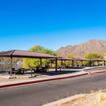 Restrooms and shaded picnic areas. - Saguaro Lake