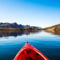 Saguaro Lake flatwater paddle.- Saguaro Lake