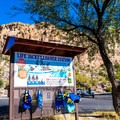 If you forget your life jacket, they offer a few for children to borrow!- Saguaro Lake