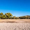 Plenty of space to sunbath too.- Saguaro Lake