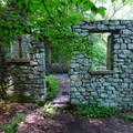 Entrance to Kay's Cottage.- Cooper Gristmill to Kay's Cottage via Patriot's Path