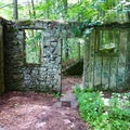 Inside Kay's Cottage.- Cooper Gristmill to Kay's Cottage via Patriot's Path