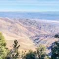 Ascending the ridge opens up breathtaking glimpses into Death Valley.- Wildrose Peak