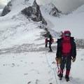 Mount Olive in fair conditions. - Saint Nicholas Peak: South Ridge