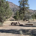 The Service Creek Campground.- John Day River: Service Creek to Clarno