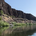 Pushing off to float the John Day River, Service Creek to Clarno.- John Day River: Service Creek to Clarno