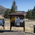 Boater and camper registration.- Service Creek Campground