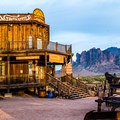 The views from the mercantile are unbeatable!- Goldfield Ghost Town