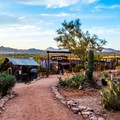 Views from Goldfield Ghost Town.- Goldfield Ghost Town