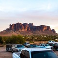 The Superstition Mountains.- Goldfield Ghost Town