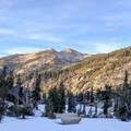 The single site on the northern side of the trail has great views over Aster Lake and down the valley.- Emerald Lake Campground