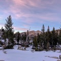 The the tree and undulations provide a nice buffer between the 10 campsites.- Emerald Lake Campground